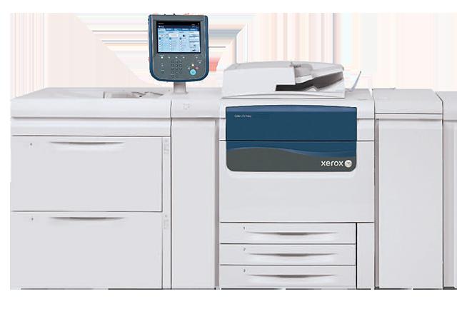 Xerox J75, Stampanti e copiatrici di produzione: Xerox