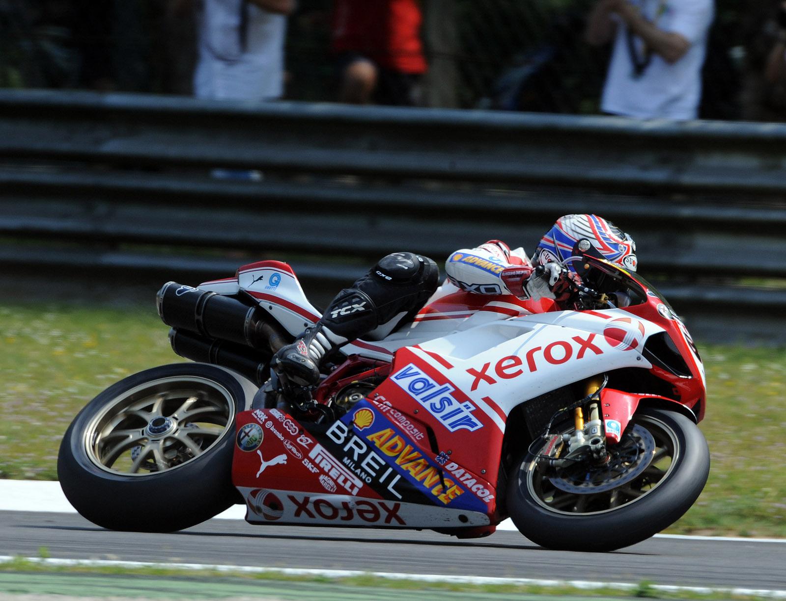 Troy Bayliss and Michel Fabrizio  Ducati Xerox World Superbike Team